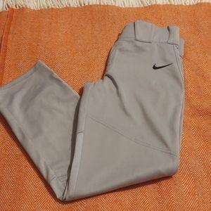 Boys youth large Nike baseball pants
